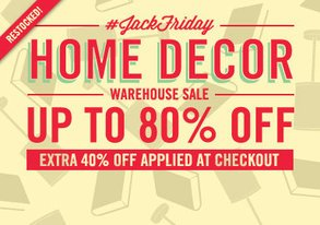 Shop JackFriday Warehouse Sale: Home