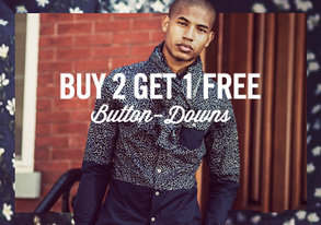 Shop Buy 2 Get 1 Free: Button-Downs