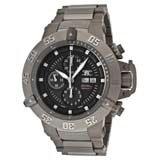 Invicta 11050 Men's Subaqua Noma III Black Dial Steel & Titanium Bracelet Chronograph Automatic Dive Watch