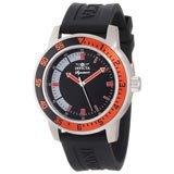 Invicta 7460 Mens Signature II Black Dial Black Rubber Strap Watch