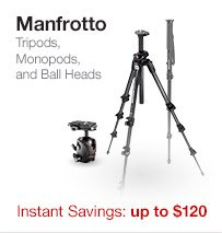 Manfrotto Tripods Monopods