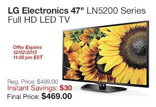 LG 47 LED HDTV