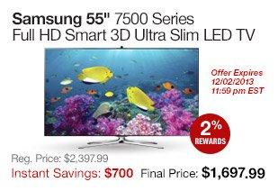 Samsung 55 3D TV