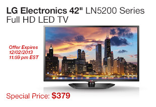 LG 42 LED HDTV