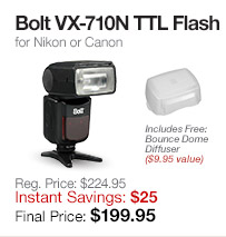 Bolt VX-710N Flash