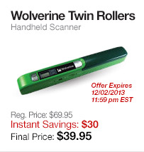 Wolverine Twin Rollers