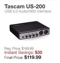 Tascam US-200