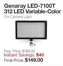 Genaray LED-7100T