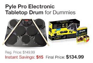 Pyle Pro Tabletop Drum