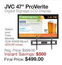JVC 47 ProVerite