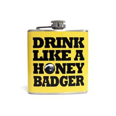 Honey Badger Flask