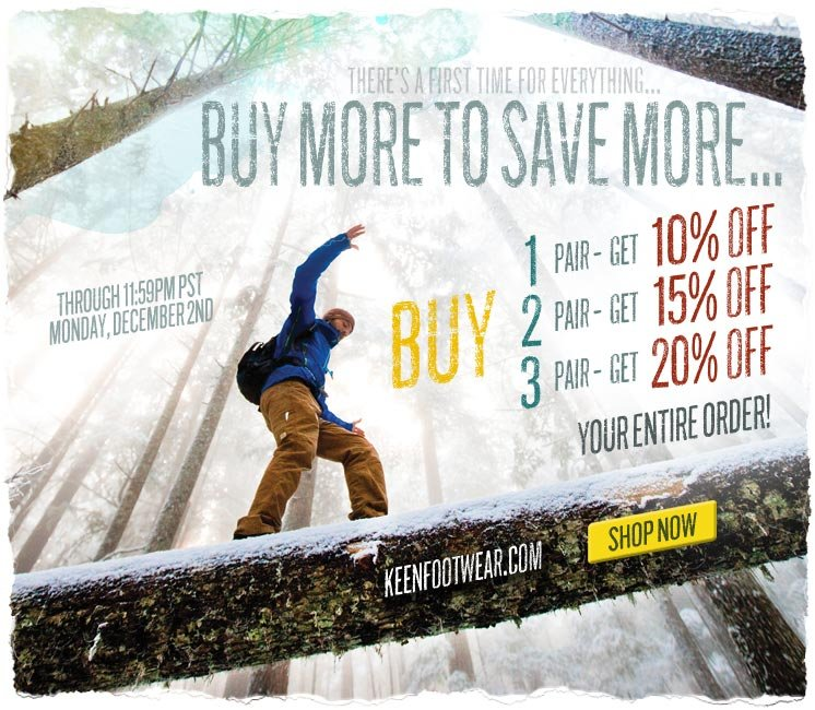 Buy More to Save More on Cyber Monday!