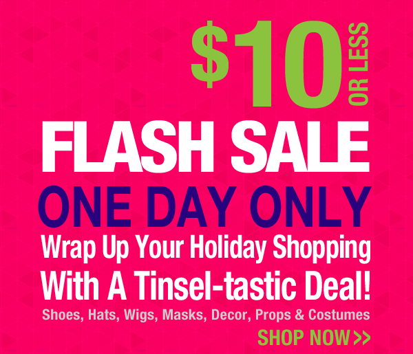 $10 1 Day Only Sale