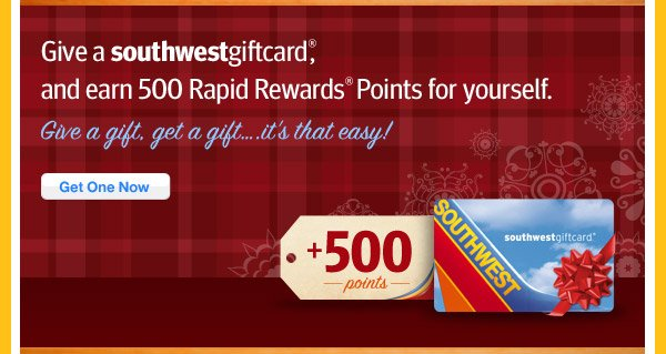 Gift a Southwest Gift Card