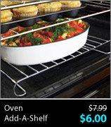 Oven Add-A-Shelf