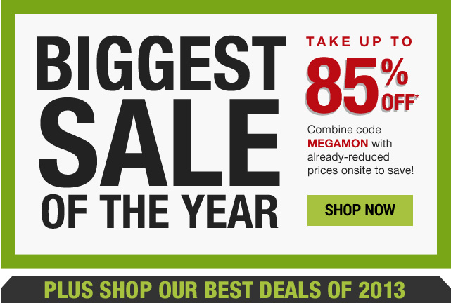 Up to 85% off with code MEGAMON
