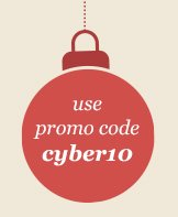 with promo code cyber10