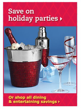 Save on holiday parties