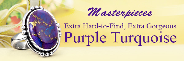 Masterpieces Extra Hard-to-Find, Extra Gorgeous Purple Turquoise