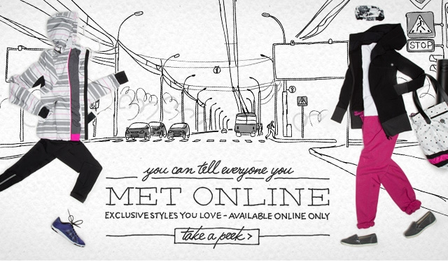 you can tell everyone you met online