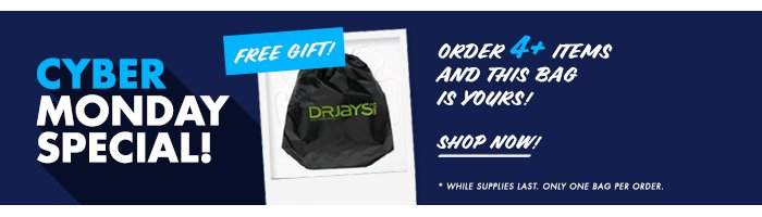 Shop DrJays.com Take 50% Off The Cyber Monday Shop With Promo Code.