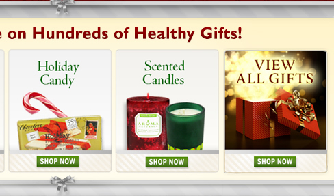 Hundreds Of Healthy Holiday Gifts