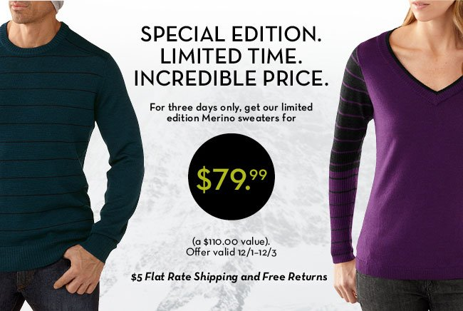 Merino Sweater Sale
