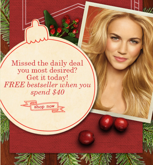 Missed the daily deal you most desired Get it today Click here to  see our final offers Hurry Today is the last day SHOP NOW