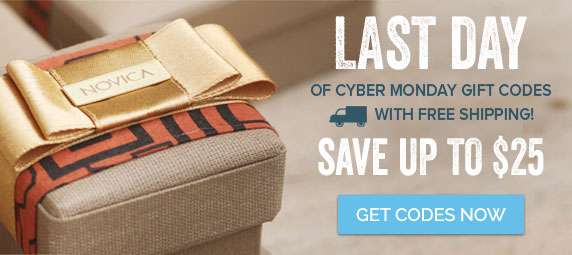 LAST DAY of Cyber Monday Gift Codes with Free Shipping! Save Up To $25 - Get Codes Now