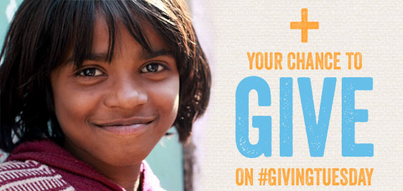 + Your Chance to Give on #givingtuesday