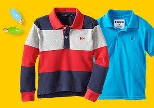 $11 & Up: Kids' Polos