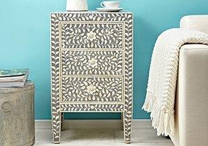 Trend Alert: Bone Inlaid Furniture