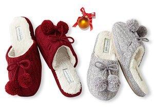 Mistletoes: Slipper Gifts for Her