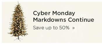 Cyber Monday Markdowns Continue