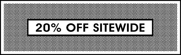 30% OFF SITEWIDE
