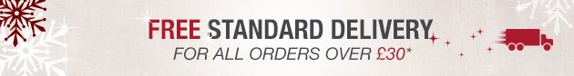 Free delivery for orders over £30*