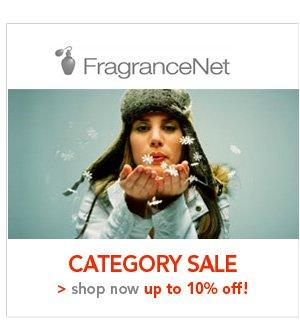 Shop FragranceNet Category Sale