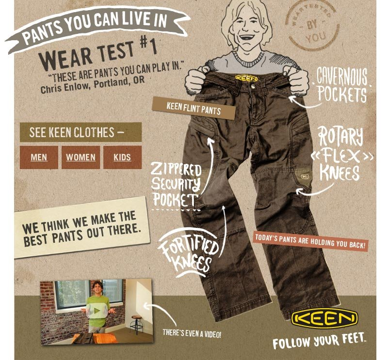 Pants You Can Live In