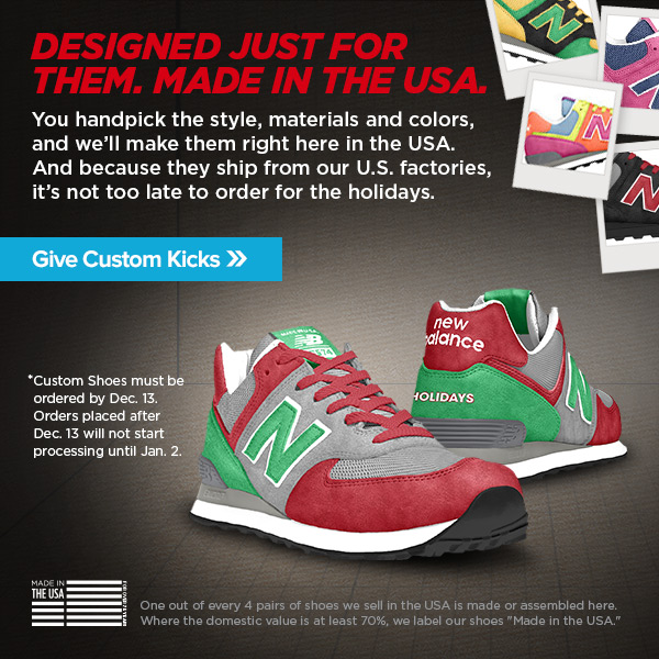 Give Custom Shoes This Holiday