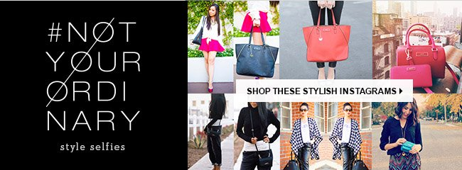 SHOP THESE STYLISH INSTAGRAMS