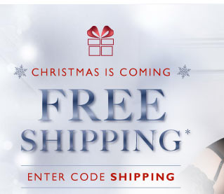For a limited time only - Free shipping
