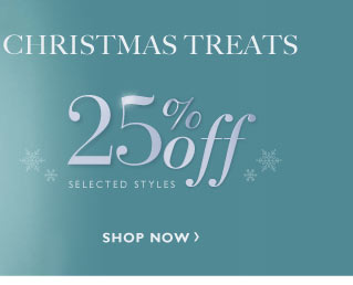 25% off Christmas Treats