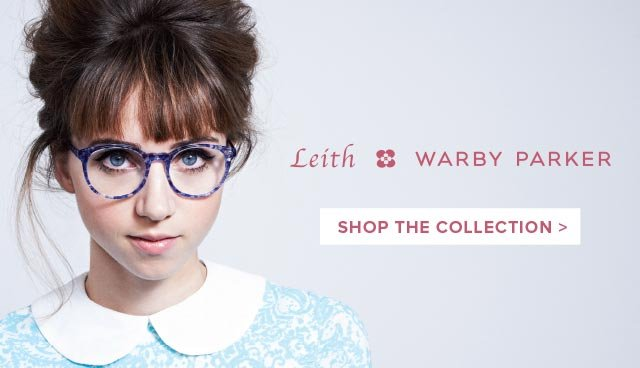 Leith Clark × Warby Parker. Shop the collection >
