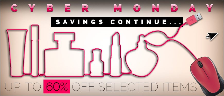 Cyber Monday Continues - Up to 60% Off Selected Items