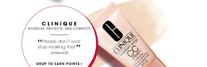 CLINIQUE. Hydrates, protects, and corrects. Please don't ever stop making this! -kmbne35. SHOP TO EARN POINTS