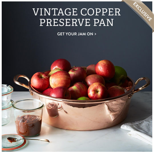 Vintage Preserve Pan