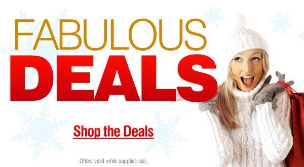 Fabulous Deals - Shop Now