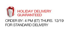 Holiday Delivery Guaranteed