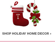shop holiday home decor