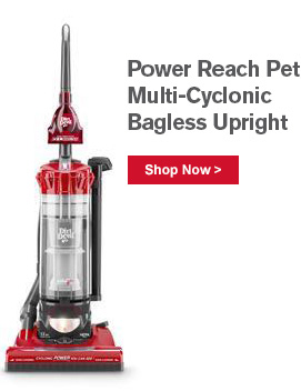 Power Reach Pet Multi-Cyclonic Bagless Upright